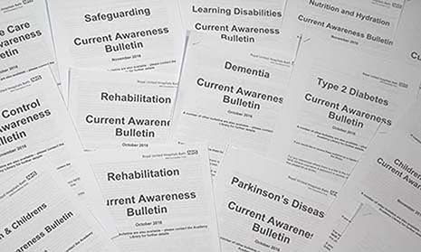 Current Awareness Bulletins