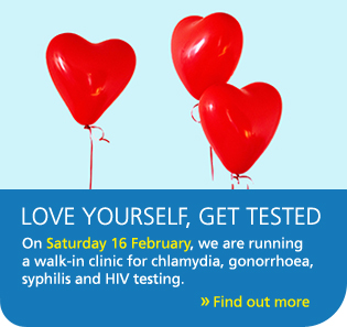 Love yourself, get tested