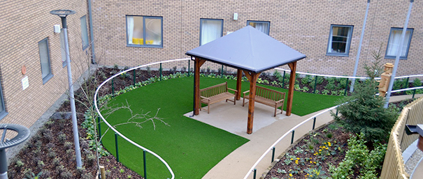 RUH garden for patients with dementia