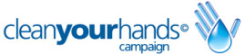 Clean Your Hands Campaign logo