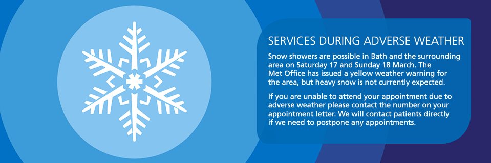Services during adverse weather